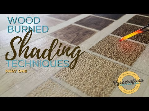 Wood Burning Shading Techniques Part 1 by Pyrocrafters