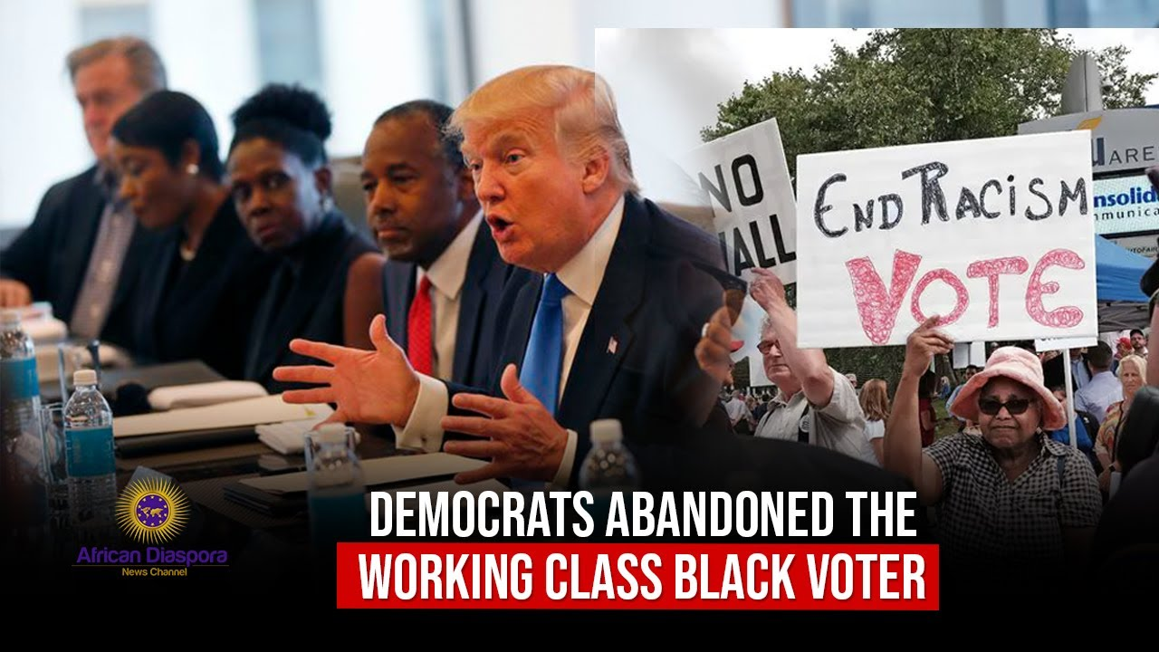 Black Voters Abandoned By Democrats Starting To Warm Up To Trump In Recent Polls