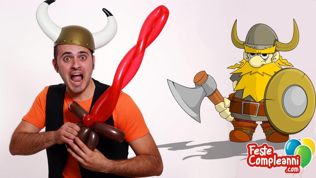 Palloncini Modellabili Spada Del Guerriero Balloon Sword