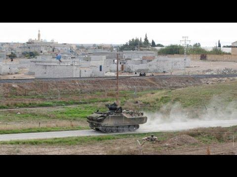 Suriye ordusu Türkiye sınırına bomba...