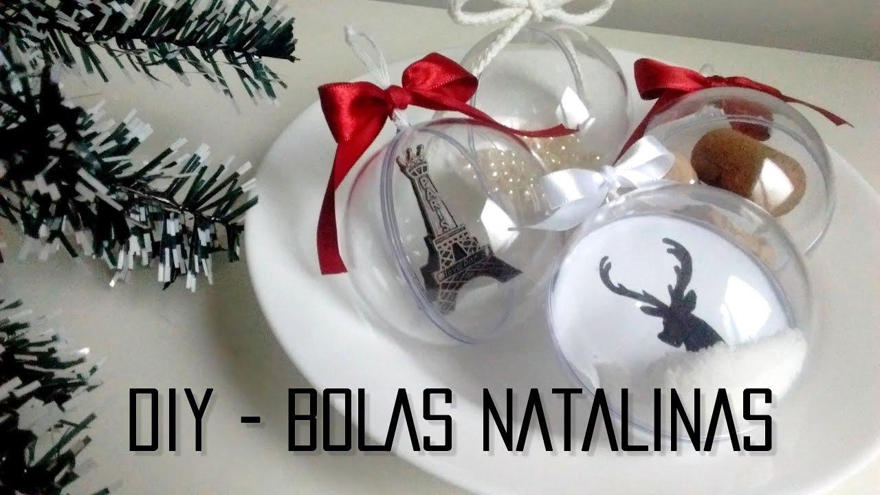 Diy bolas de natal personalizadas pinterest - Bolas de cristal personalizadas ...
