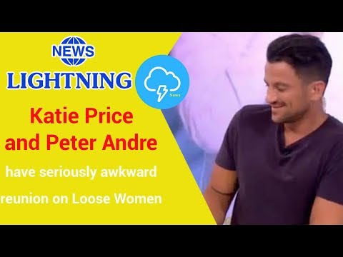 Katie Price and Peter Andre have seriously awkward reunion on Loose Women