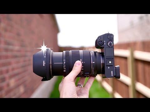 Sigma 17-50mm F/2.8 + Sigma MC-11 + Sony A6300