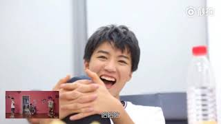 TFBOYS reaction to their Music Videos