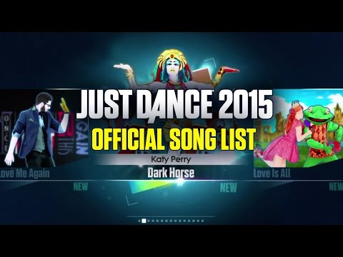 Just Dance 2015 Song List [NORTH AMERICA]