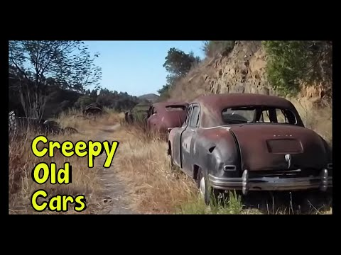 Creepy Old Cars Lost in Middle of the Mountains