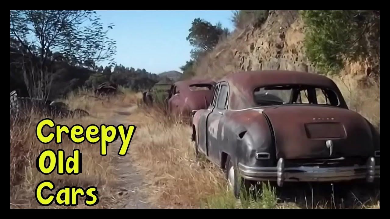 Creepy Old Cars Lost in Middle of the Mountains - YouTube