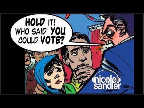 7-7-17 Nicole Sandler Show - Orwellian Election Integrity with Ari Berman