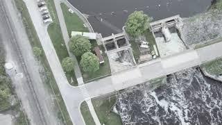Geddes Dam & Downtown Ypsitucky Flight