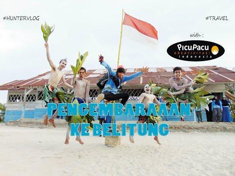 PENGEMBARAAN KE PULAU BELITUNG, INDONESIA | ft. PicuPacu Kreativitas! [HUNTERVLOG]