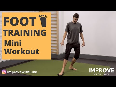 3 Exercises to Strengthening Your feet