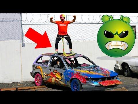 30.000$ CAR VS 999$ PRO SCOOTER!