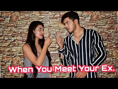 When You Meet Your Ex.- Zeeshan Khan || Red Entertainment Production