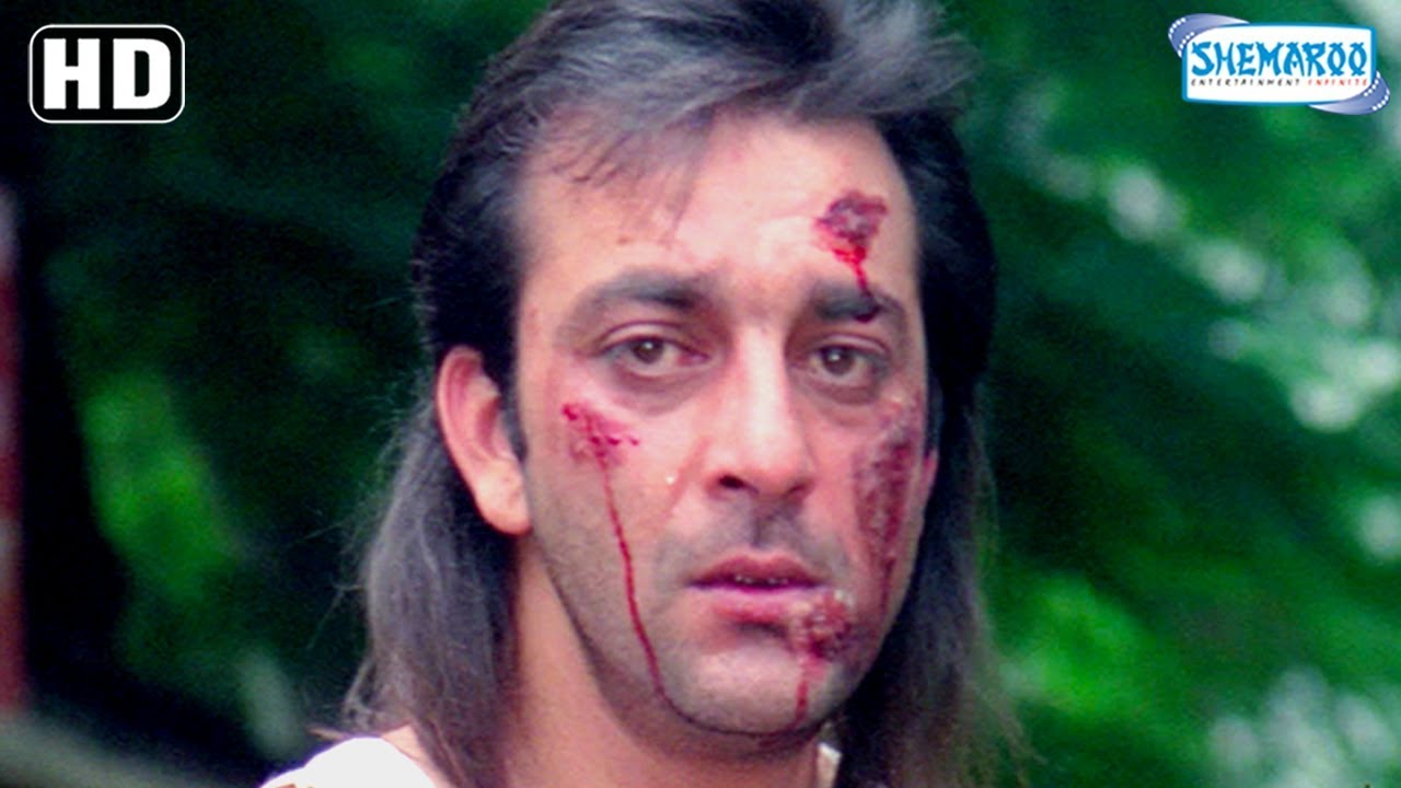 Best Of Sanjay Dutt Sanju scenes from Andolan - 90's ...