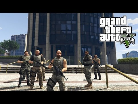 Gta 5 pc bodyguard mod fib survival heist and more gta v for Hv interieur heist
