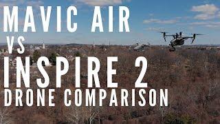 Mavic Air vs Inspire 2 Comparison - $6,000 drone vs $800 drone