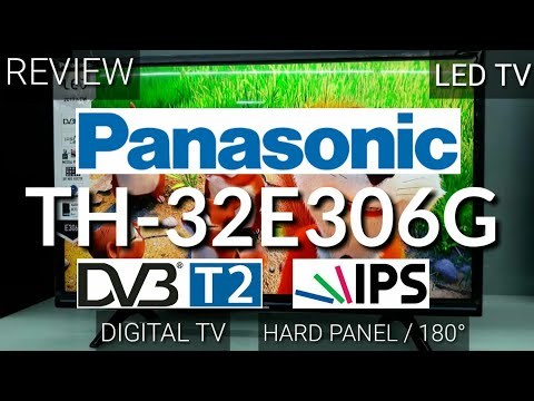 REVIEW PANASONIC TH-32E306G LED TV DIGITAL indonesia HD