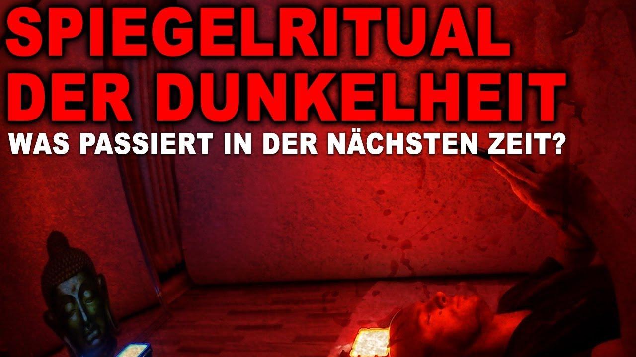 GEISTER MIT SPIEGEL RUFEN - Spiegelritual der Dunkelheit