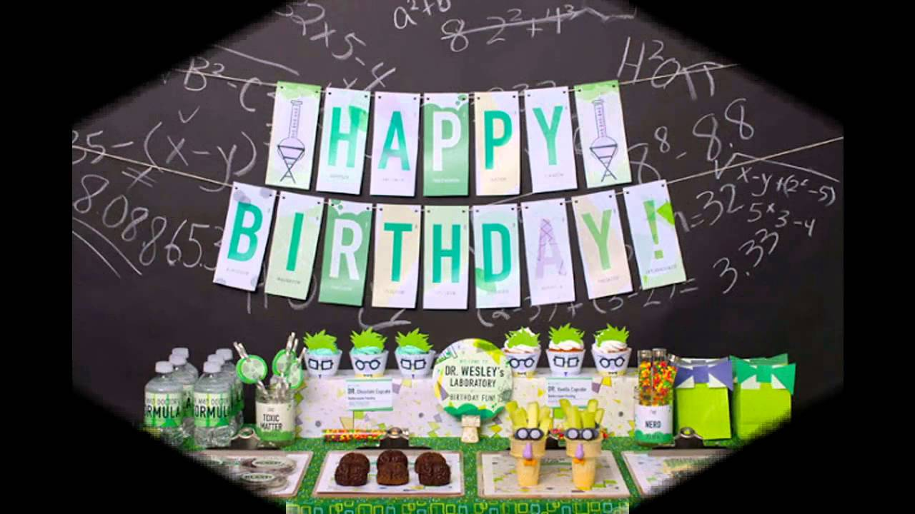 Awesome 1 Year Old Birthday Party Decorations Ideas