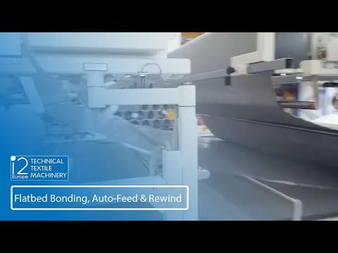 Flatbed Bonding, Auto-Feed & Rewind