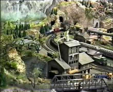 N-scale Model Railroad