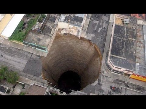 Top 15 Sinkholes Caught on Tape