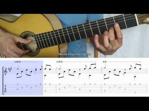 My way - guitar cover | tutorial