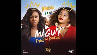 NINIOLA FT BUSISWA - MAGUN REMIX (OFFICIAL AUDIO) [2018]