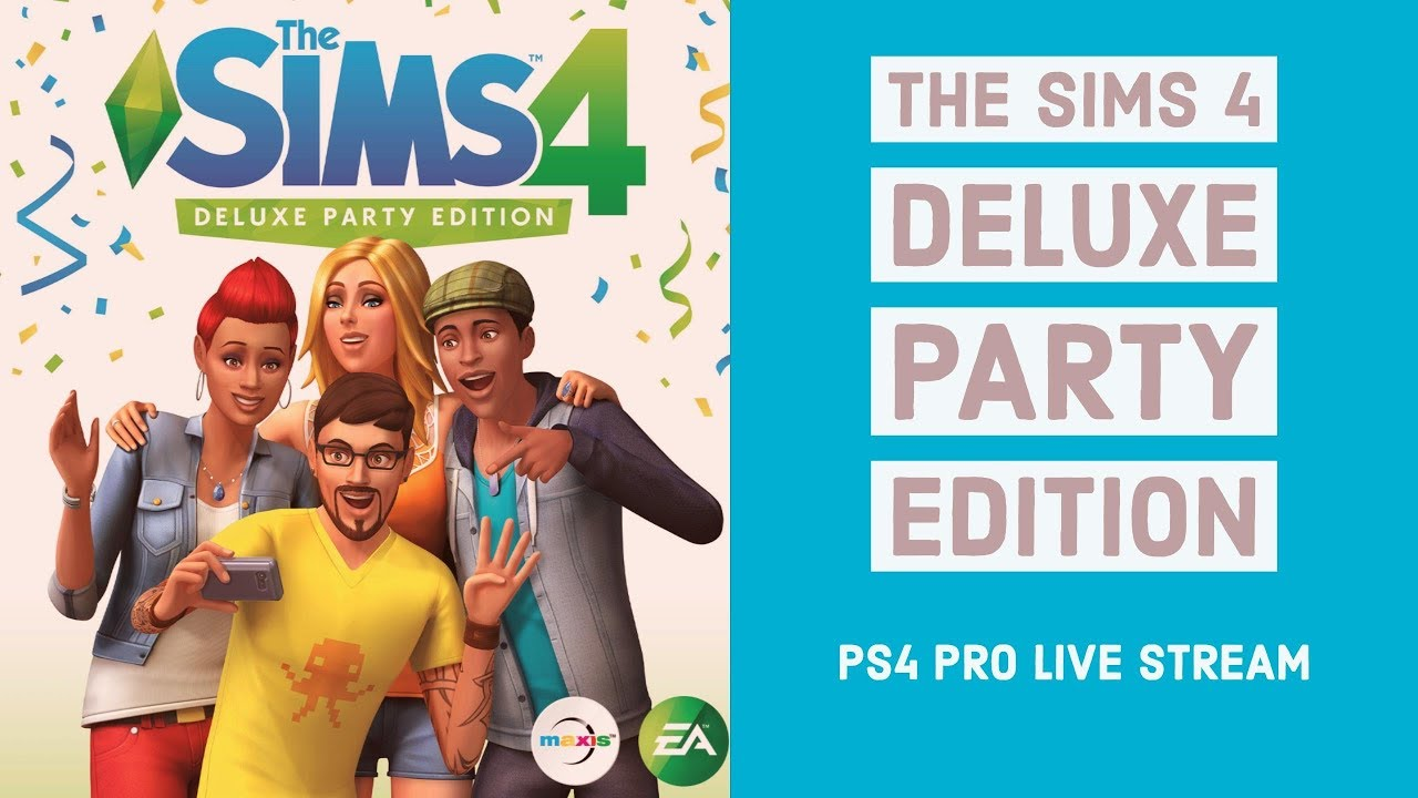 The Sims 4 PS4 DLC - Luxury Party & Cool Kitchen Stuff Packs Live ...