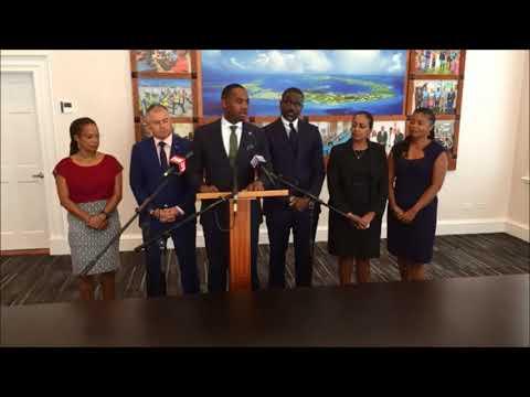 Premier David Burt Press Conference, Sept 12 2017