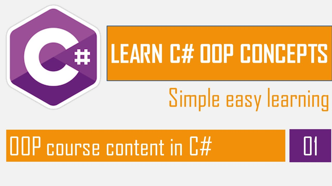 OOP course content in C# | OOP in C# Part-1