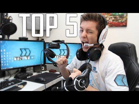 TOP 5 des Casques Audio pour Gamers !