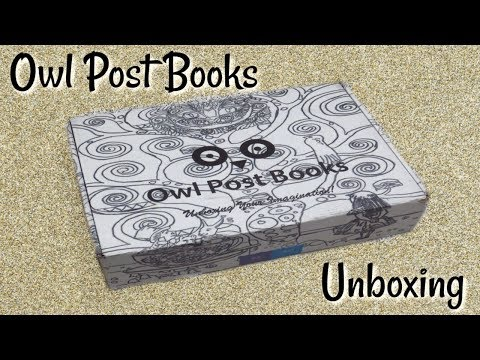 Owl Post Books - Kids Book Subscription Unboxing!