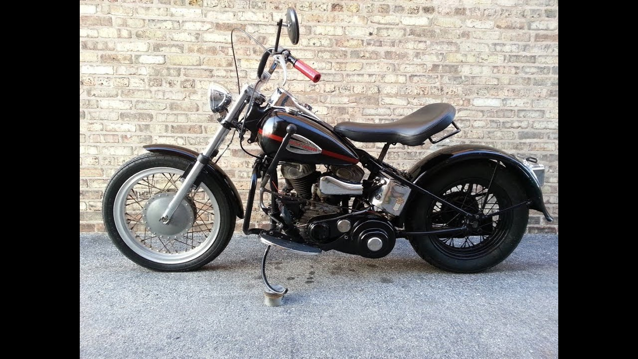 1962 harley davidson flathead wl 45 bobber youtube. Black Bedroom Furniture Sets. Home Design Ideas