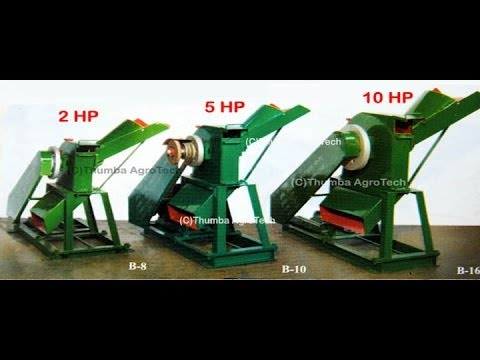 Chaff Cutter cum Pulvurizer  2 in 1 Machines, Thumba Agro Technologies, Palani