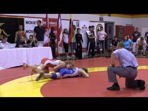 2014 Canada Cup: 55 kg Jillian Gallays (CAN) vs. Jessica Brouillette (CAN)
