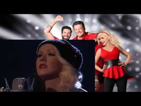 Christina Aguilera Say Something The Voice 2013.mp4