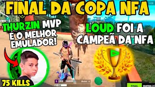 LOUD CAMPEÃ - THURZIN MVP - MELHOR DO MUNDO  - BAK REI DA NFA - COPA NFA FINAL - CLIPS FREE FIRE