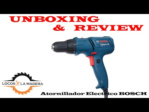 Unboxing y Review de Taladro Atornillador bosch GSR 7 -14 E