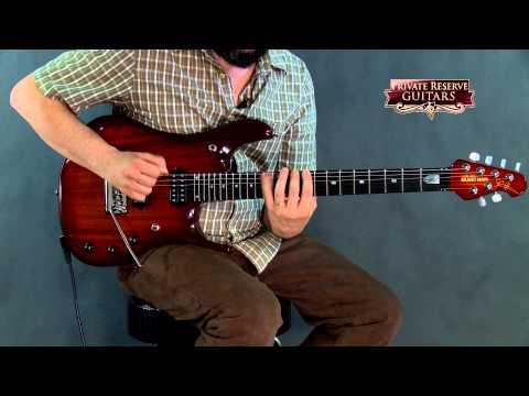 Music Man John Petrucci BFR 6 Koa Top with Piezo Electric Guitar Island Burst