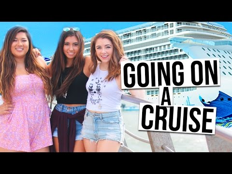GOING ON A CRUISE TO MEXICO WITH JILL & REMI | Cruise Day #1