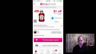 Shopmium App Walkthrough - Scan your way to earn some extra money