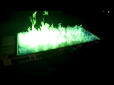 Grünes Feuer