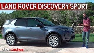 Land Rover Discovery Sport 2020 Primera prueba Review en espaol - Clicacoches.com