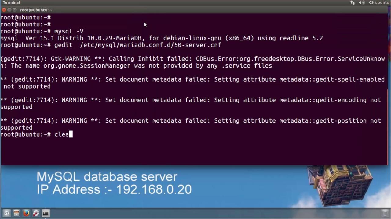 mysql client for ubuntu