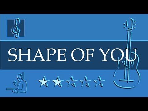 Acoustic Guitar TAB - Shape Of You - Ed Sheeran (Sheet Music)