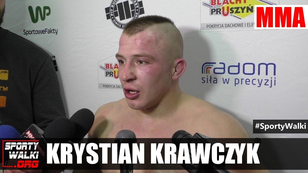 Krystian Krawczyk po Babilon MMA 3