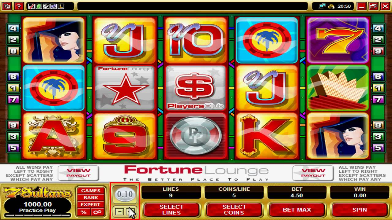 Spiele Sultans Fortune - Video Slots Online