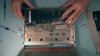 How to Replace the Keyboard in the Panasonic Toughbook CF-T8