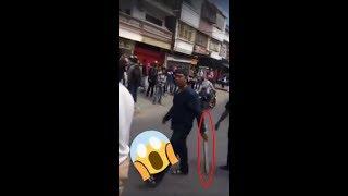 WARGA MARAH, karna mahasiswa demo sapai menutup jalan di makassar.